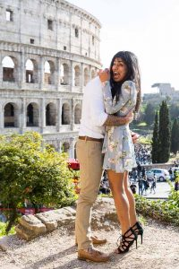 Just engaged in Italy