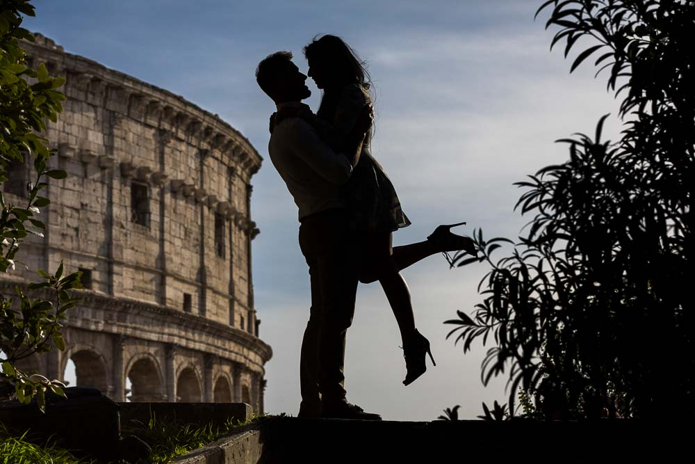 Surprised in Rome with a wedding proposal
