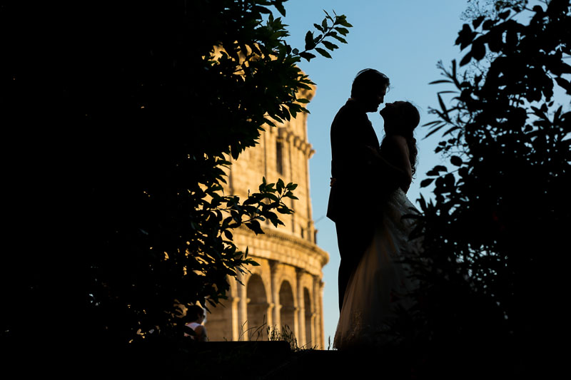 Professional and Creative Rome Wedding Photography by the Andrea Matone photography studio