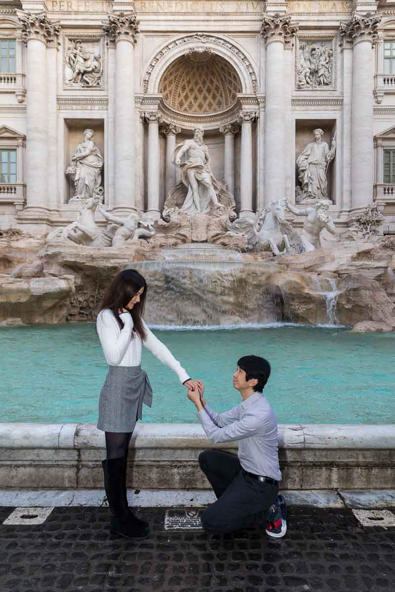 279 Proposing in Rome