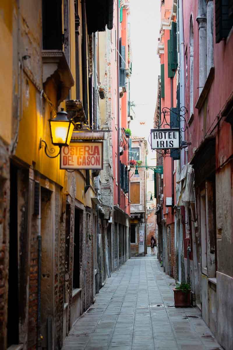 Venetian alleyways