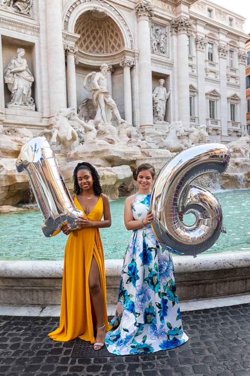 Sweet 16 Photo Shoot in Rome