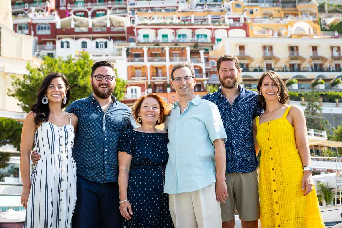 Close up family photography in Amalfi Italy