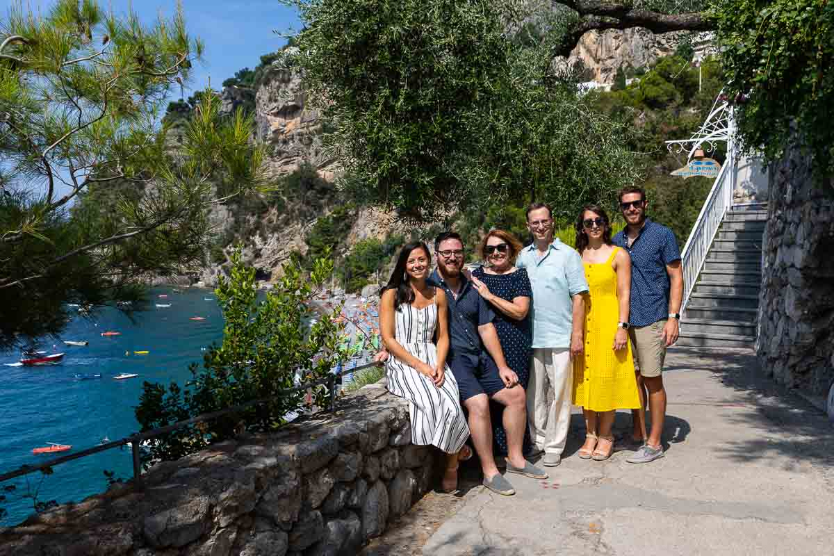 Amalfi coast family photography