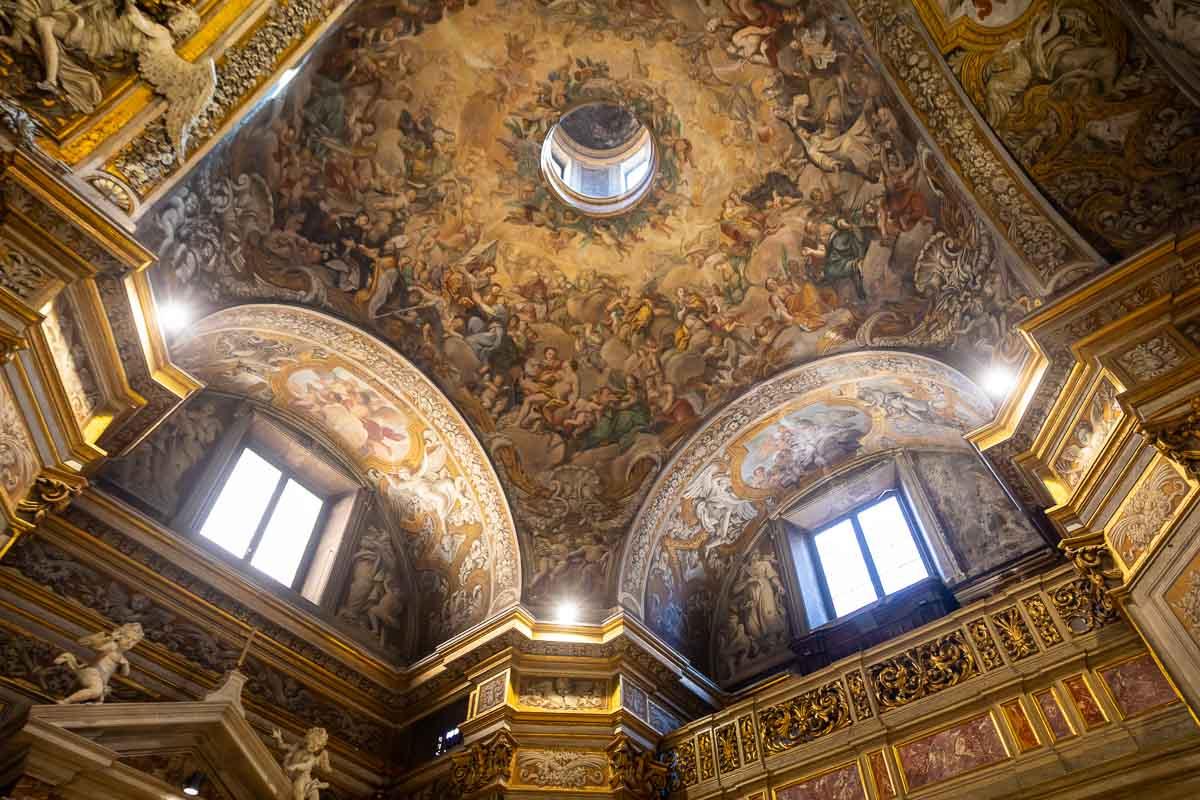Church Santa Rita internal view
