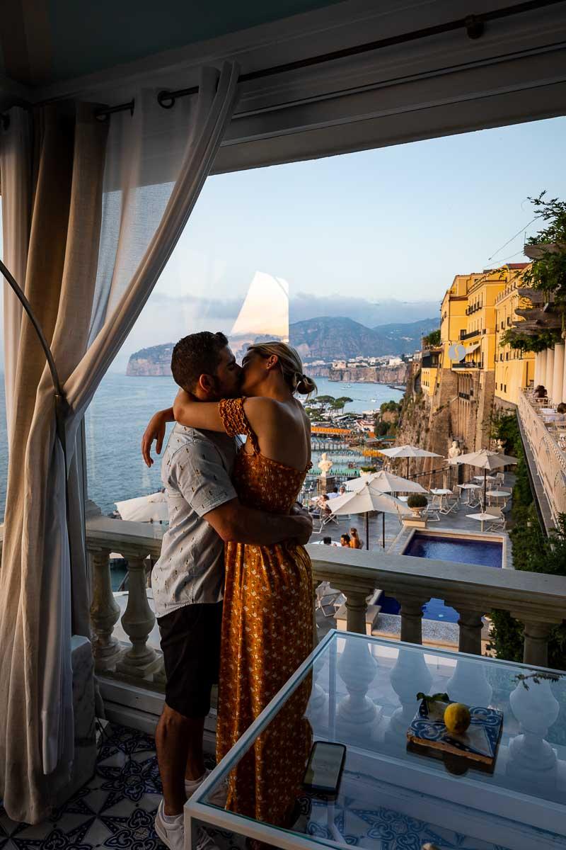 In love on the Amalfi coast