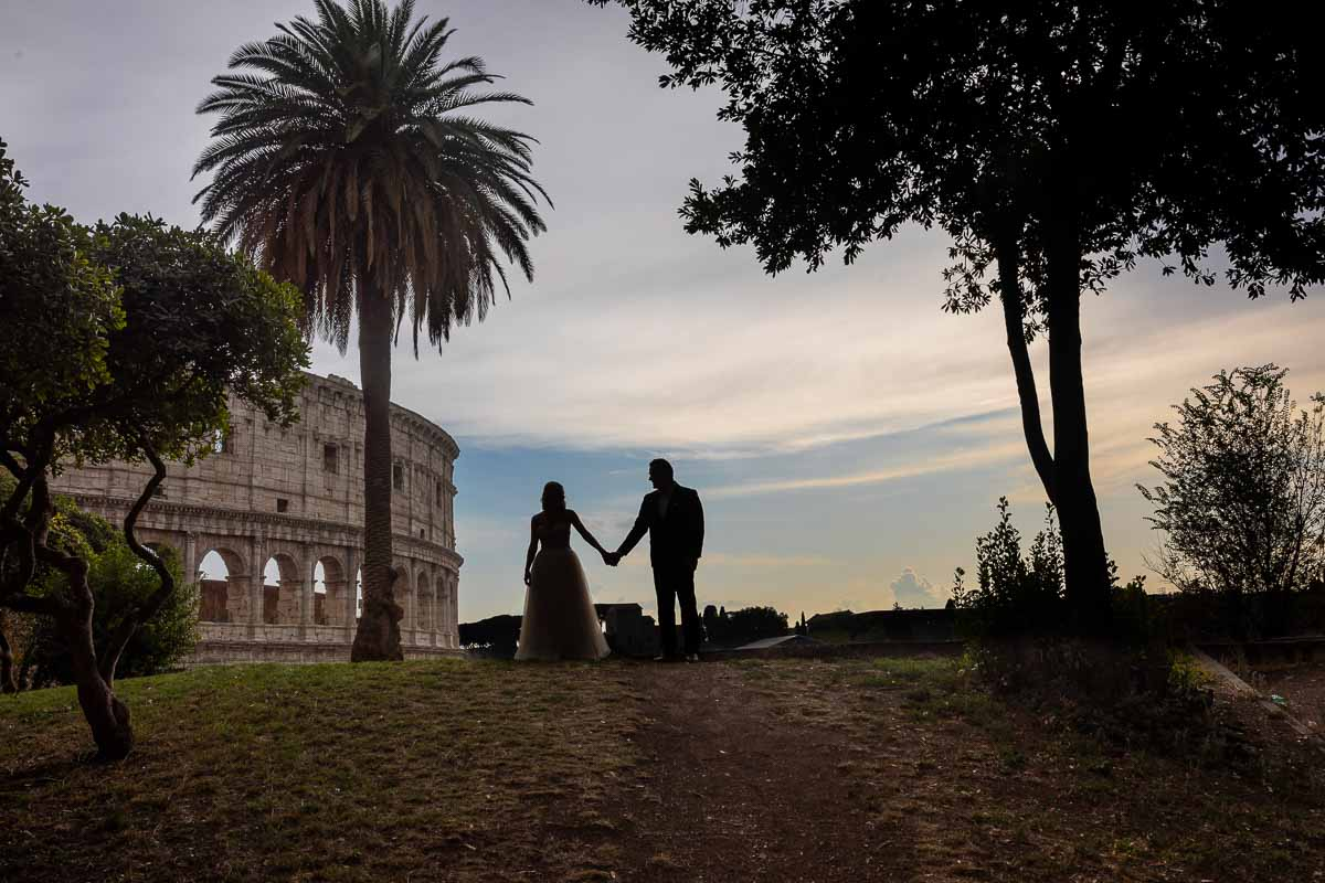 Wedding Photographer session in Rome Italy