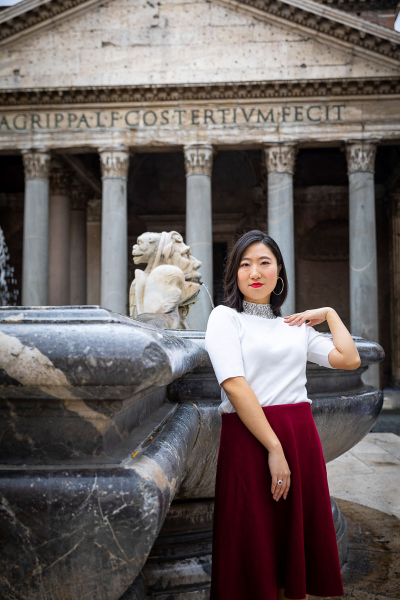Modelling at the Roman Pantheon