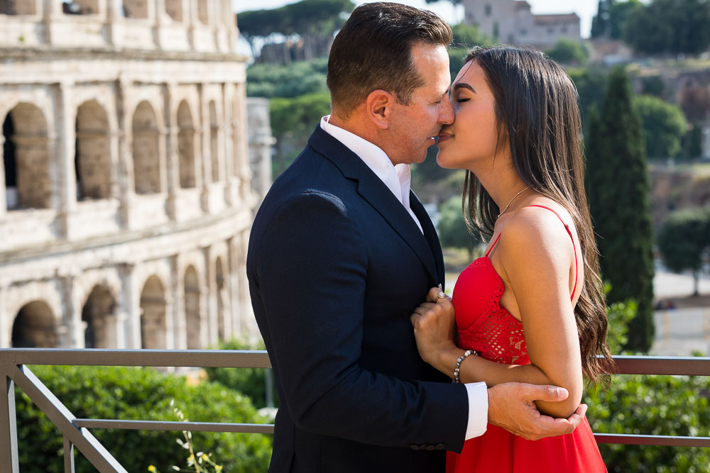 Kissing on a Roman Holiday