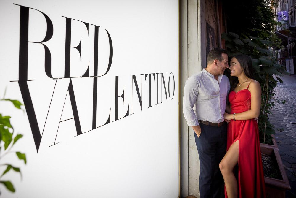 Red Valentino photoshoot