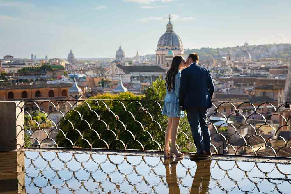 Engagement couple photoshoot in Rome